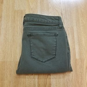 A.N.A Zippered Ankle Skinny Jeans